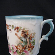 """SALE Vintage Porcelain """"Remember Me"""" Motto Mug"""