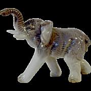 Scarce Vintage Kyoto Japan Asian Elephant Figurine