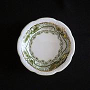 "SALE Vintage Wood & Son England ""Marseilles"" Pattern Butter Pat"