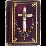 SOLD Antique German Prayer Book with Original Box