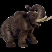 Vintage Lefton Bone China Elephant Figurine