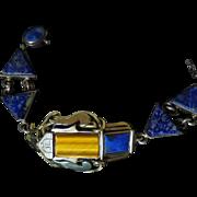 Vintage Signed 950 Silver Early Bracelet