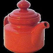 SALE Vintage Waechtersbach Mid-Century Ceramic Teapot