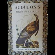 SOLD Vintage Hardbound Book - Audubon's Birds - First Edition, First Printing 1950