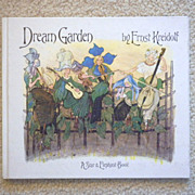 """Very Rare Vintage Hardbound Book -"""" Dream Garden"""""""