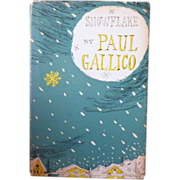 "Vintage Hardbound Book - ""Snowflake"" by Paul Gallico"