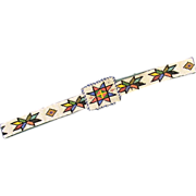 Native American Beadwork Belt
