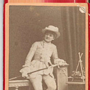 """Racy"" Johan Johanson Photographer Advertising Card"