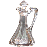 SOLD Paneled Flute EAPG Cruet Tall and Lovely!