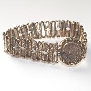 Expandable Signet Style Bracelet Circa 1904