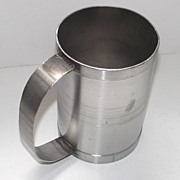 Steel Bakers Powered Sugar Dusting – Sifting  Mug