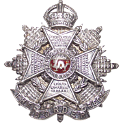 Border Regent Silver Brooch   Battle of Arroyo dos Molinos