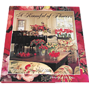 SALE Vintage Coffee Table Book: A Roomful of Flowers Decorators Guide to Using Flower ...
