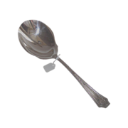 Silver Plate Berry Spoon circa 1920 Unknown Pattern Name