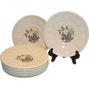 Wedgwood Wellesley Montreal Dessert Plates 8 Available
