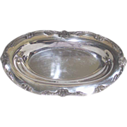 Silver Plate Bread Tray Lovely William Rogers Mid Century Pattern