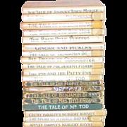 19 Vintage Beatrix Potter Children's Books  Copy Right's 1931-1940