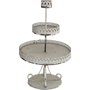 3 Tiered Wire Caddy  Perfect for Your Doll House Garden or Patio