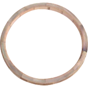 Mother of Pearl Bangle Bracelet
