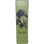 "Jackie Coogan 1930s ""Our Gang"" Child Movie Star Tin Metal Pencil Box"