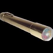 Solid Brass Pocket Pen-sized Kaleidoscope by Van Cort Instrument