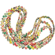 Vintage Gum Wrapper Chain 8 ½ Feet Long