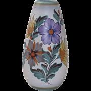 Impressive Gouda Vase Fiora in the Viola Pattern
