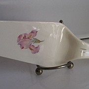 Harker Iris Pattern Pie Server 1940's