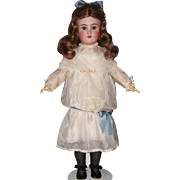 "Large 28+"" Heinrich Handwerck Simon & Halbig Antique Bisque Head German Doll. Display Rea"