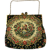 SALE WALBORG French Tapestry Purse
