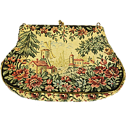 SALE JOLLES Original Scenic Tapestry Purse