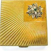 SALE VOLUPTE Rhinestone Mirrored Compact Case
