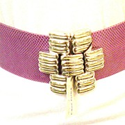 SALE ALEXIS KIRK Architectural Modernist Belt Buckle Design with Patented Adjustable Sizing