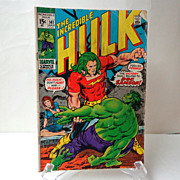 SOLD Incredible HULK.  #141 July.  1st Doc Samson.  Comic. Very Good Condition.