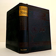 SALE Bible Heroes.  ARUNDEL EDITION.  Boys of the Bible by H.J. Williams.  Pre-1900. Beautiful