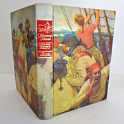 SOLD Treasure Island. Illustrated Junior Library.  1947.  Norman Price Illust.  Beautiful.  Mi