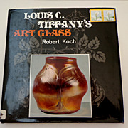 Louis C. Tiffany's Art Glass by Robert Koch.  Illustrated ++.  Great Reference.