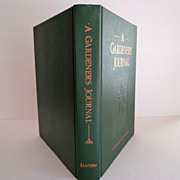 Gardener's Journal. 10 Yr Chronicle.  Huge.  541 pages.  As New Condition.  For Amateurs & P