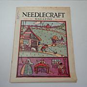 Needlecraft Magazine.  March 1929.  Wonderful ads & patterns.  Near Fine Condition.