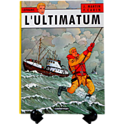 L'Ultimatum by Jacques Martin.  Lefranc.  Tintin author.  French Graphic Novel.  Young Adult