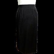 Classic Fine Wool Straight Maxi Skirt.  Fashion Wardrobe Must.  Size 18-20.  Mint Condition.