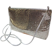 Whiting & Davis Silver Mesh Purse / Cross-body / Clutch.  Gorgeous.  As New Condition.