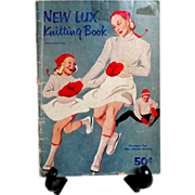 New Lux Knitting Book. 1952.  Designs for the whole family.  75 Styles.