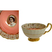 Aynsley China.  Young QEII Commemorative Coronation Cup.  Beautiful.  Quality.  Perfect Condit
