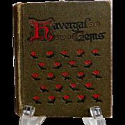 Havergal Gems. C. 1920.  Gorgeous Illustrations.  Miniature Size.  Very Scarce.