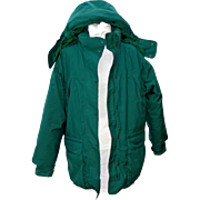Vintage Eddie Bauer Women's Goose Down Filled Parka. Large. Green. Quality +++.  As New ...