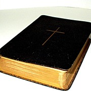 SALE Genuine Leather, 1902,  Prayer Book for the Evangelical Lutheran Church of North America.