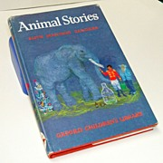 Animal Stories by Manning-Sanders.  Illustrated by Macarthur-Onslow.  1967.  Oxford University