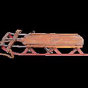 SOLD Rare Antique Flexible Flyer Sled No. 5c C. 1915-1920