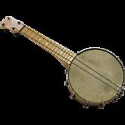 Vintage Concertone Banjo Ukulele Banjolele